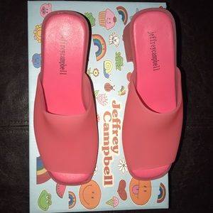 Size 7 Jeffrey Campbell open toed sandals